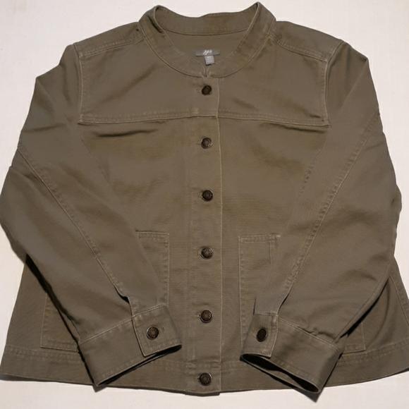 J. Jill Jackets & Blazers - ⬇️$25 J. Jill jean utility jacket sz MP